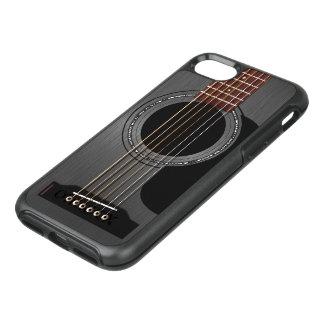 Black Acoustic Guitar OtterBox Symmetry iPhone 8/7 Case