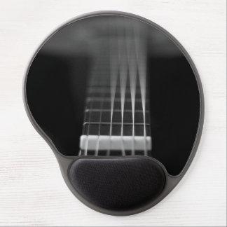 Black Acoustic Guitar Photo Gel Mouse Pad