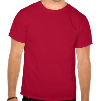 Black Albanian Eagle on Red Background Tees