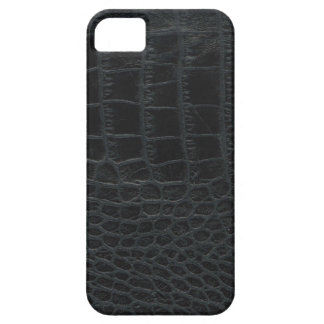 Black Alligator Skin iPhone 5 Case