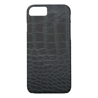 Black Alligator Skin iPhone 7 case