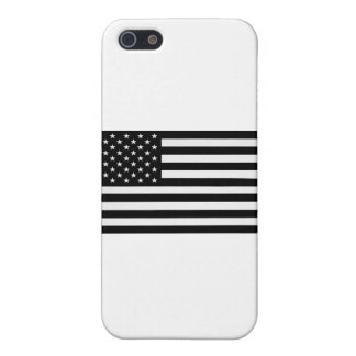 Black American Flag Case For iPhone 5/5S