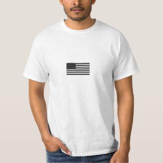 Black American Flag Tee
