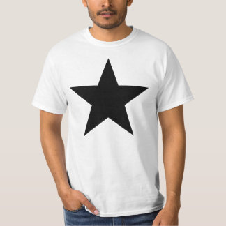 Black Anarchy star (classical) T-Shirt