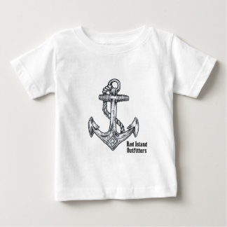 Black Anchor Baby T-Shirt