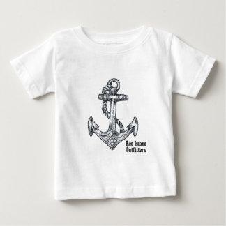 Black Anchor Tee Shirts
