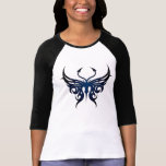 Black and blue butterfly tee!