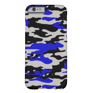 Black and Blue Camo - iPhone 6 case