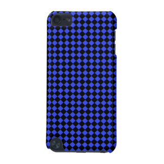 Black and Blue Checked Pattern iPod Touch 5G Cover