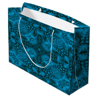 Black And Blue Colorful Gift Bags