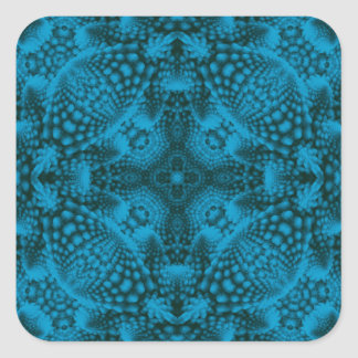 Black And Blue Colorful Stickers