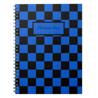 Black and blue - Italian football club - Inter Notebooks