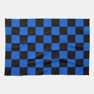 Black and blue - Italian football club - Inter Tea Towel
