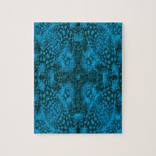 Black And Blue Jigsaw Puzzle with Gift Box