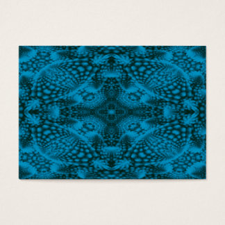 Black And Blue  Pattern  Colorful Business Cards