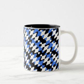 BLACK AND BLUE Two-Tone COFFEE MUG