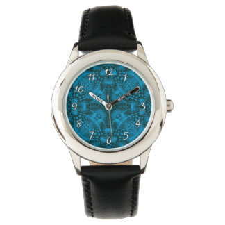 Black And Blue  Vintage Kids Watch