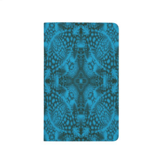 Black And Blue  Vintage Pocket Journal