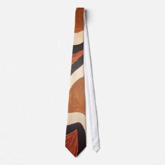 Black and Brown Tie