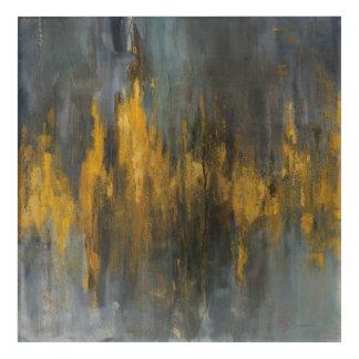 Black and Gold Abstract Print | Danhui Nai Acrylic Wall Art