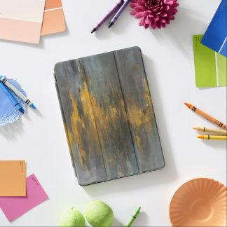 Black and Gold Abstract Print | Danhui Nai iPad Air Cover
