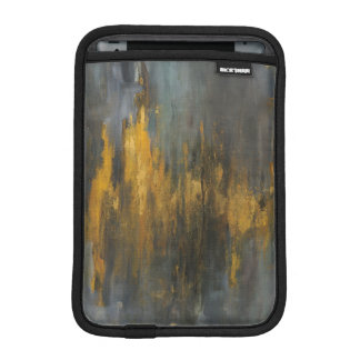 Black and Gold Abstract Print | Danhui Nai iPad Mini Sleeve