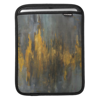 Black and Gold Abstract Print | Danhui Nai Sleeves For iPads