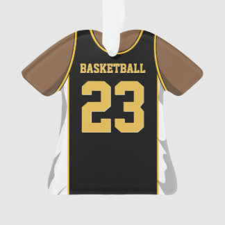 Black and Gold Basketball
