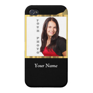 Black and gold instagram template iPhone 4 covers