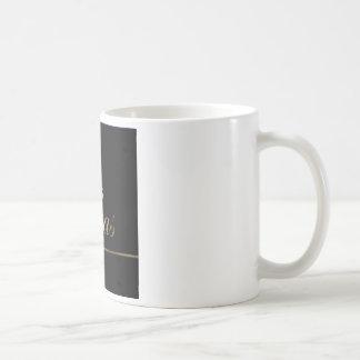 Black and Gold Las Vegas Coffee Mugs