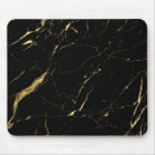 Black and Gold Marble Designer Mouse Mat