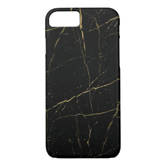 Black and Gold Marble iPhone 7 Case
