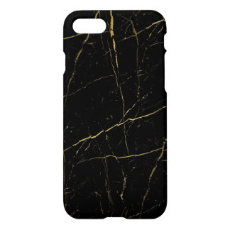 Black and Gold Marble iPhone 8/7 Case