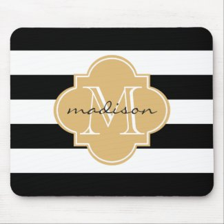 Monogram Mouse Mat