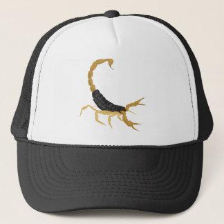 Black and Gold Scorpion Trucker Hat
