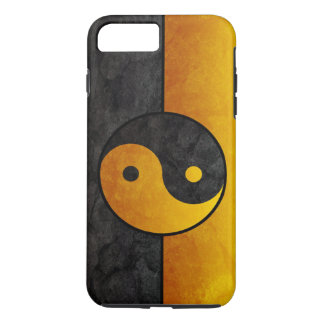 black and gold yin yang iPhone 7 plus case