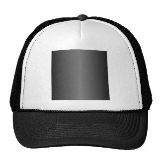 Black and Gray Gradient Mesh Hat