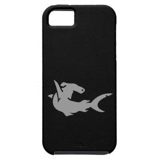 Black and Gray Hammerhead Shark iPhone 5 Case