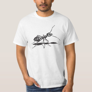 Black And Gray Insects Ant T-Shirt