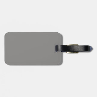 Black and Gray Luggage Tag