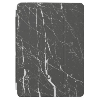 Black And Gray Marble Pattern iPad Air Cover