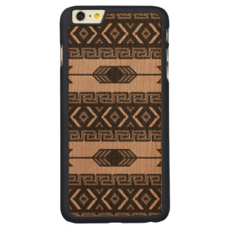 Black And Gray Tribal Aztec Pattern Phone Case