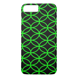 Black And Green Lime iPhone 7+ Case