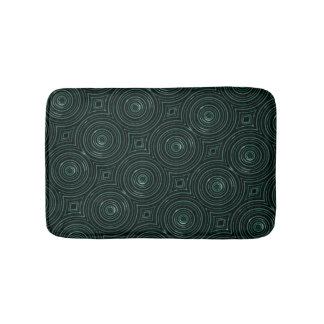 Black and green mat