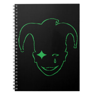 Black And Green MTJ Notebook