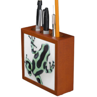 Black and Green Poison Dart Frog 2 Desk Organiser