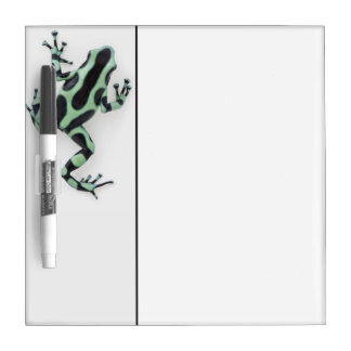 Black and Green Poison Dart Frog 2 Dry-Erase Boards