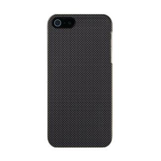 Black and Grey Carbon Fiber Polymer Incipio Feather® Shine iPhone 5 Case