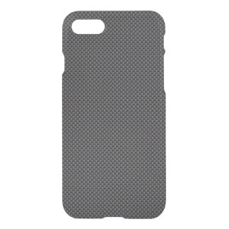 Black and Grey Carbon Fiber Polymer iPhone 7 Case