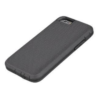 Black and Grey Carbon Fiber Polymer Tough Xtreme iPhone 6 Case